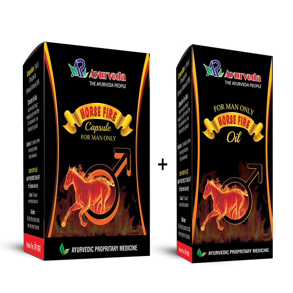 Horse Fire Capsule & Oil- Boost Your Sexual Health